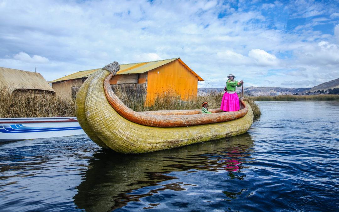 Jezero Titicaca ajeho ostrovy
